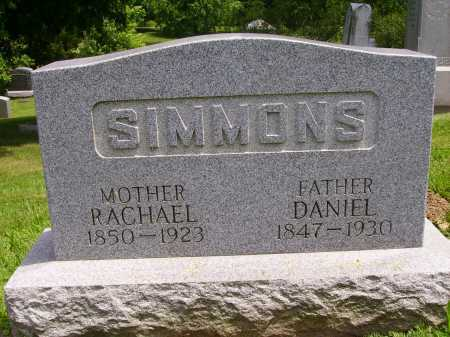 SIMMONS, DANIEL - Stark County, Ohio | DANIEL SIMMONS - Ohio Gravestone Photos
