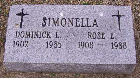 SIMONELLA, ROSE E. - Stark County, Ohio | ROSE E. SIMONELLA - Ohio Gravestone Photos