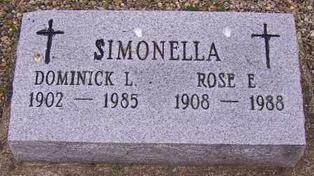 SIMONELLA, DOMINICK L. - Stark County, Ohio | DOMINICK L. SIMONELLA - Ohio Gravestone Photos