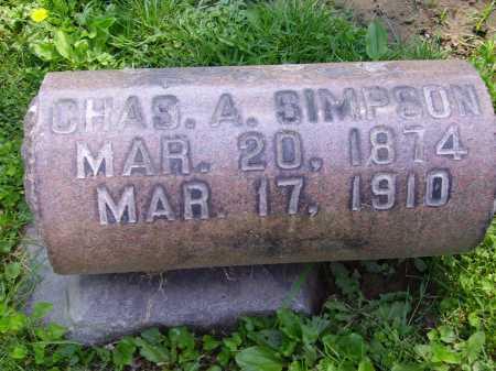 SIMPSON, CHARLES A. - Stark County, Ohio | CHARLES A. SIMPSON - Ohio Gravestone Photos
