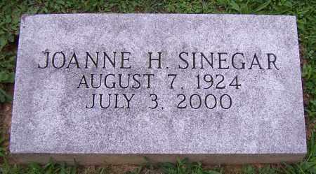SINEGAR,, JOANNE H. - Stark County, Ohio | JOANNE H. SINEGAR, - Ohio Gravestone Photos