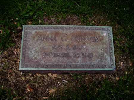 SKINNER, ANNA C. - Stark County, Ohio | ANNA C. SKINNER - Ohio Gravestone Photos