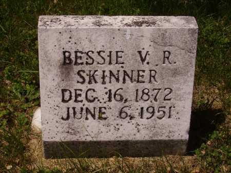 SKINNER, BESSIE V.R. - Stark County, Ohio | BESSIE V.R. SKINNER - Ohio Gravestone Photos