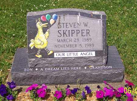 SKIPPER, STEVEN W. - Stark County, Ohio | STEVEN W. SKIPPER - Ohio Gravestone Photos