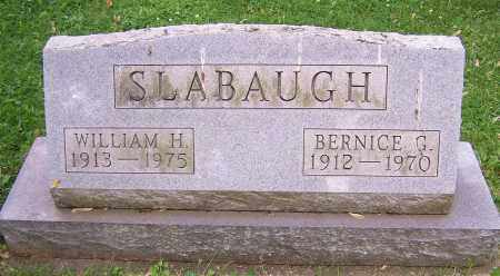 SLABAUGH, WILLIAM H. - Stark County, Ohio | WILLIAM H. SLABAUGH - Ohio Gravestone Photos