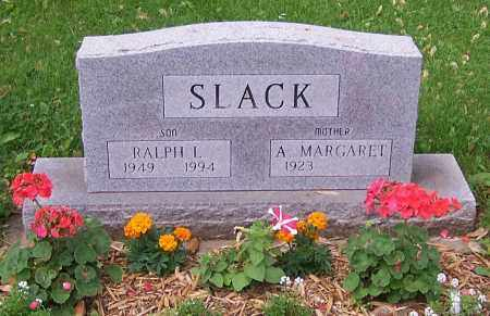 SLACK, A. MARGARET - Stark County, Ohio | A. MARGARET SLACK - Ohio Gravestone Photos