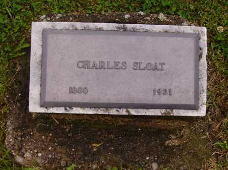 SLOAT, CHARLES - Stark County, Ohio | CHARLES SLOAT - Ohio Gravestone Photos