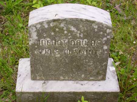 SLOATE, INFANT DAUGHTER - Stark County, Ohio | INFANT DAUGHTER SLOATE - Ohio Gravestone Photos