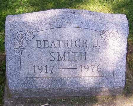SMITH, BEATRICE J. - Stark County, Ohio | BEATRICE J. SMITH - Ohio Gravestone Photos