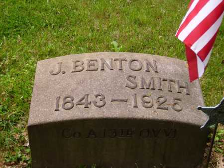SMITH, BENTON - Stark County, Ohio | BENTON SMITH - Ohio Gravestone Photos