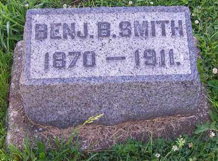 SMITH, BENJ B. - Stark County, Ohio | BENJ B. SMITH - Ohio Gravestone Photos