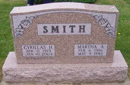 SMITH, CYRILLAS H. - Stark County, Ohio | CYRILLAS H. SMITH - Ohio Gravestone Photos