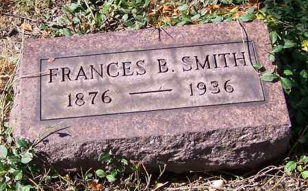 SMITH, FRANCES B. - Stark County, Ohio | FRANCES B. SMITH - Ohio Gravestone Photos