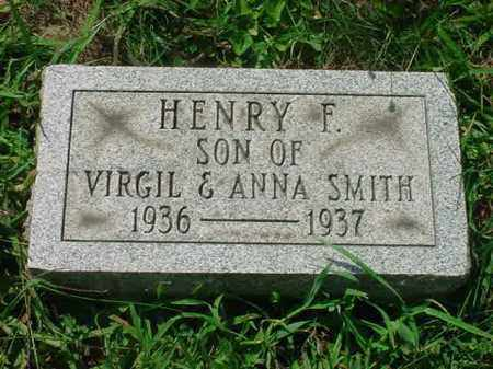 SMITH, HENRY F - Stark County, Ohio | HENRY F SMITH - Ohio Gravestone Photos