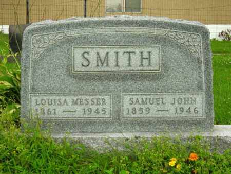 SMITH, SAMUEL JOHN - Stark County, Ohio | SAMUEL JOHN SMITH - Ohio Gravestone Photos