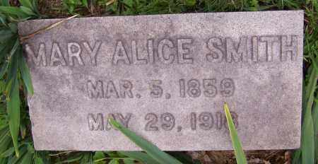 SMITH, MARY ALICE - Stark County, Ohio | MARY ALICE SMITH - Ohio Gravestone Photos