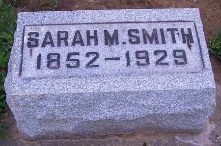 SMITH, SARAH M. - Stark County, Ohio | SARAH M. SMITH - Ohio Gravestone Photos