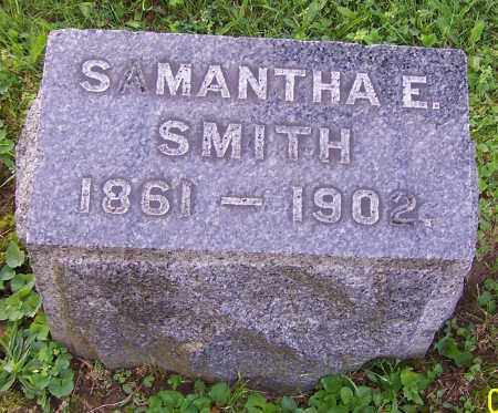 SMITH, SAMANTHA E. - Stark County, Ohio | SAMANTHA E. SMITH - Ohio Gravestone Photos