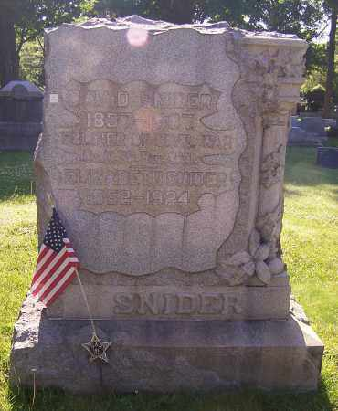 SNIDER, DAVID - Stark County, Ohio | DAVID SNIDER - Ohio Gravestone Photos