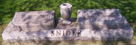 SNIDER, VIRGH - Stark County, Ohio | VIRGH SNIDER - Ohio Gravestone Photos