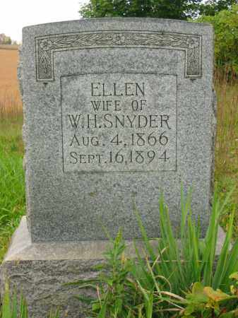 SNYDER, ELLEN - Stark County, Ohio | ELLEN SNYDER - Ohio Gravestone Photos