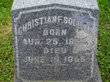 SOLLAU, CHRISTIAN F. - Stark County, Ohio | CHRISTIAN F. SOLLAU - Ohio Gravestone Photos
