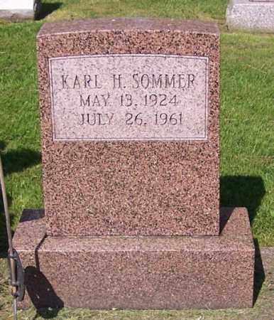 SOMMER, KARL H. - Stark County, Ohio | KARL H. SOMMER - Ohio Gravestone Photos