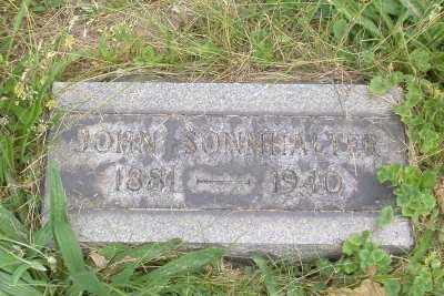 SONNHALTER, JOHN - Stark County, Ohio | JOHN SONNHALTER - Ohio Gravestone Photos