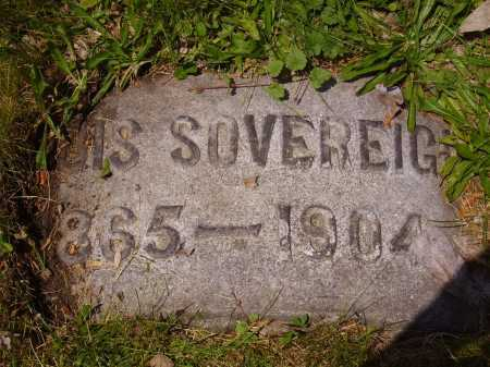 SOVEREIGN, LOUIS - Stark County, Ohio | LOUIS SOVEREIGN - Ohio Gravestone Photos