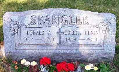 CUNIN SPANGLER, COLETTE - Stark County, Ohio | COLETTE CUNIN SPANGLER - Ohio Gravestone Photos
