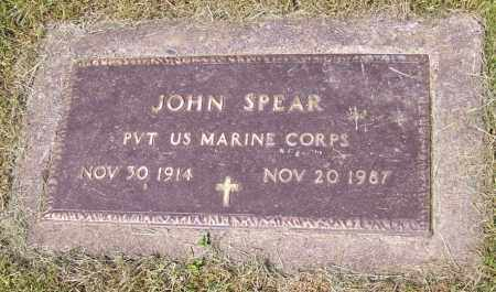 SPEAR, JOHN - Stark County, Ohio | JOHN SPEAR - Ohio Gravestone Photos