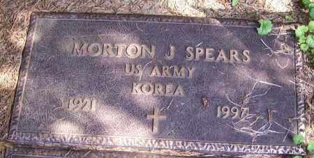 SPEARS, MORTON J. (MIL) - Stark County, Ohio | MORTON J. (MIL) SPEARS - Ohio Gravestone Photos