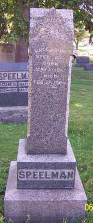 SPEELMAN, VALENTINE - Stark County, Ohio | VALENTINE SPEELMAN - Ohio Gravestone Photos