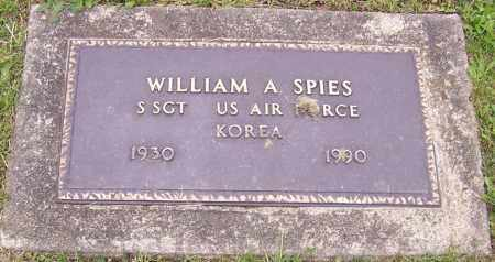 SPIES, WILLIAM A. - Stark County, Ohio | WILLIAM A. SPIES - Ohio Gravestone Photos