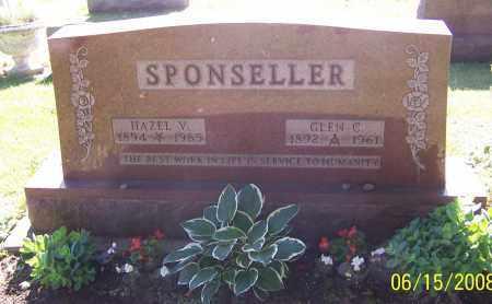 SPONSELLER, GLEN C. - Stark County, Ohio | GLEN C. SPONSELLER - Ohio Gravestone Photos
