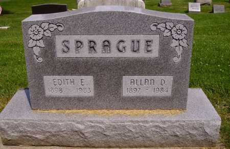 SPRAGUE, ALLAN D. - Stark County, Ohio | ALLAN D. SPRAGUE - Ohio Gravestone Photos