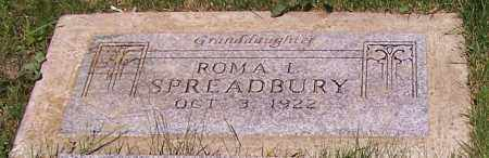 SPREADBURY, ROMA L. - Stark County, Ohio | ROMA L. SPREADBURY - Ohio Gravestone Photos