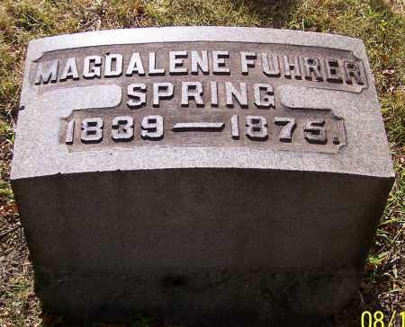 SPRING, MAGDALENE FUHRER - Stark County, Ohio | MAGDALENE FUHRER SPRING - Ohio Gravestone Photos