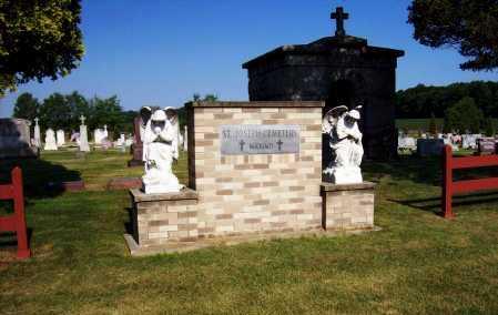 ST. JOSEPH CEMETERY - MAXIMO, ENTRANCE - Stark County, Ohio | ENTRANCE ST. JOSEPH CEMETERY - MAXIMO - Ohio Gravestone Photos