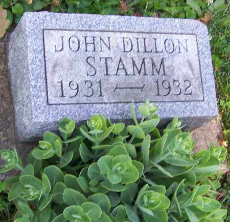 STAMM, JOHN DILLON - Stark County, Ohio | JOHN DILLON STAMM - Ohio Gravestone Photos