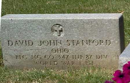STANFORD, DAVID JOHN - Stark County, Ohio | DAVID JOHN STANFORD - Ohio Gravestone Photos
