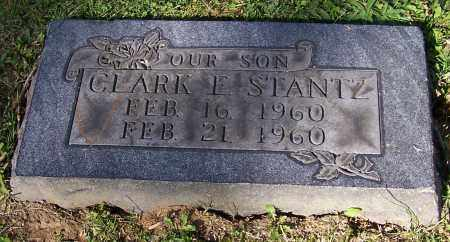 STANTZ, CLARK E. - Stark County, Ohio | CLARK E. STANTZ - Ohio Gravestone Photos