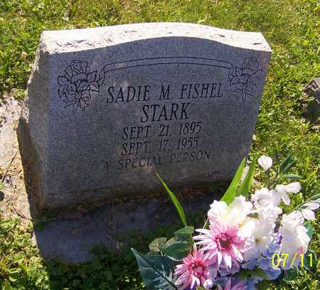 STARK, SADIE M. FISHEL - Stark County, Ohio | SADIE M. FISHEL STARK - Ohio Gravestone Photos