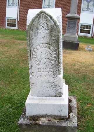 STEELE, ELIZABETH - Stark County, Ohio | ELIZABETH STEELE - Ohio Gravestone Photos