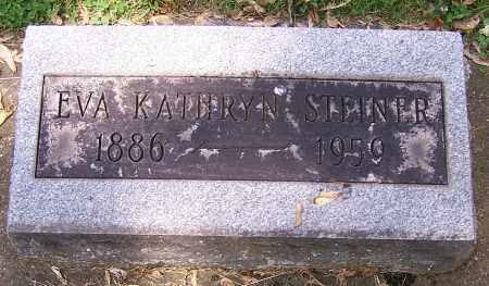 STEINER, EVA KATHRYN - Stark County, Ohio | EVA KATHRYN STEINER - Ohio Gravestone Photos