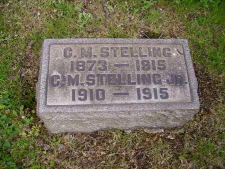 STELLING, C.M., JR [CHARLES M.] - Stark County, Ohio | C.M., JR [CHARLES M.] STELLING - Ohio Gravestone Photos