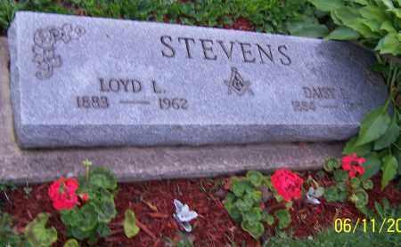 STEVENS, LOYD L. - Stark County, Ohio | LOYD L. STEVENS - Ohio Gravestone Photos
