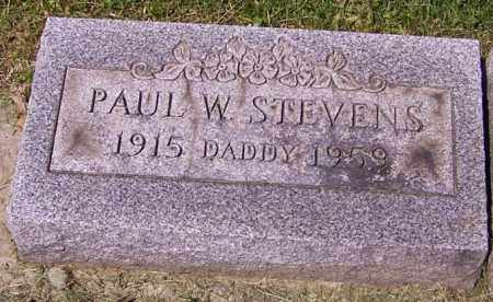 STEVENS, PAUL W. - Stark County, Ohio | PAUL W. STEVENS - Ohio Gravestone Photos