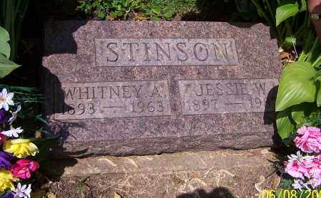 STINSON, WHITNEY A. - Stark County, Ohio | WHITNEY A. STINSON - Ohio Gravestone Photos