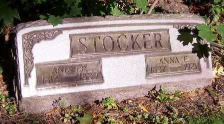 STOCKER, ANNA E. - Stark County, Ohio | ANNA E. STOCKER - Ohio Gravestone Photos